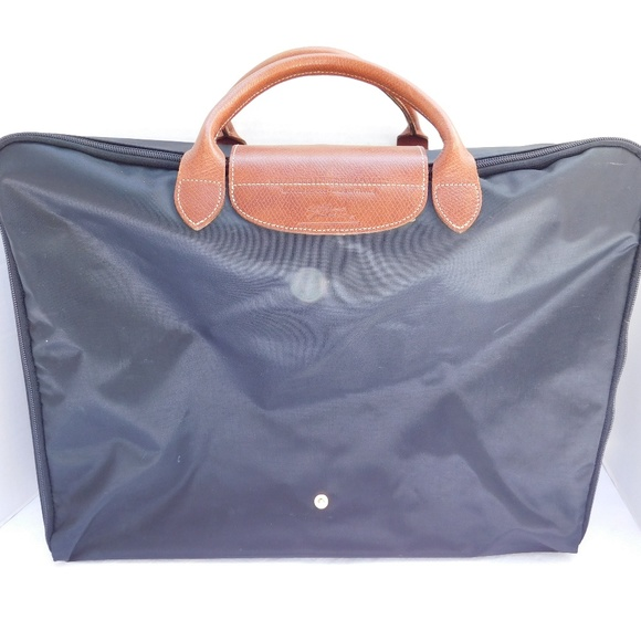 785aa22c6b Longchamp Handbags - LONGCHAMP LE PLIAGE BLACK FOLDABLE SUITCASE
